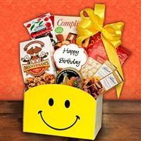 Birthday Smiles Gift Basket