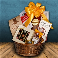Chocolate Sampler Gift Basket