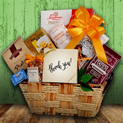 Gourmet Gratitude Moments Gift Basket