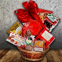 Jolly Holiday Gift Basket