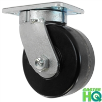 "10"" x 2-1/2"" Kingpinless Swivel Caster - Phenolic Wheel - 2,500 Lbs Capacity"