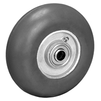 "8"" X 2"" EXTREME CUSHION RUBBER (NON MARKING) WHEEL - 450 LBS CAPACITY"