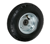 "8"" x 3"" - 2-1/4"" Hub Length - Offset Hub - Pneumatic Wheel (Air Filled) - 250 lb Cap"