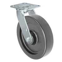 8X2 POLYOLEFIN WHEEL, SWIVEL CASTER, MEDIUM-HEAVY DUTY