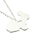 I Love Bunnies Necklace