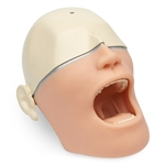 oral anesthesia manikin with light or sound sensors