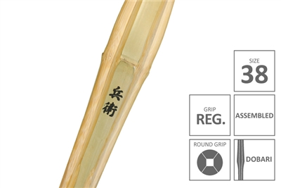 HYOEI :: Top Quality MADAKE Dobari Shinai Regular Grip [Assembled - Size 38]