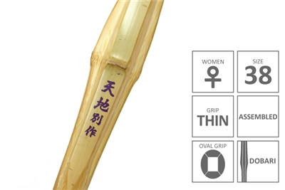 Tokusen Madake Oval Handle Shinai - TENCHI Women Size 38
