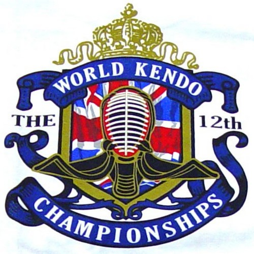 12th World Kendo Championship Memorial T- Shirts Black