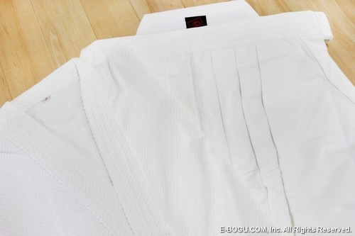 Top Quality WHITE #8,000 Hakama & Single Layer Keikogi Set