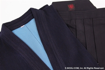 Dark Navy Shoaizome #5000 Hakama & Super Keikogi Set