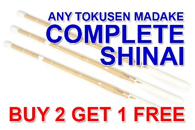 Top Quality TOKUSEN MADAKE Select Shinai