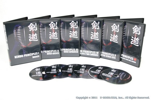 KENDO PRINCIPLES DVD SET D