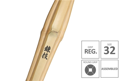 RENGI :: High Performanace Standard Practice Shinai Junior Grip [Assembled - Size 32]