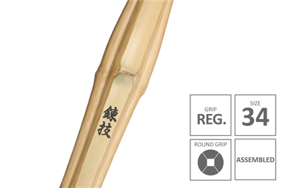 RENGI :: High Performanace Standard Practice Shinai Junior Grip [Assembled - Size 34]