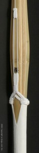 "High Quality Oval Handle Shinai - ""OBARU"" for Men Size 39 (Completely assembled with Top quality leather)"