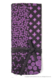 Shinai Bag with traditional Japanese design Purple