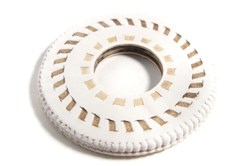 Top Quality White leather Tsuba