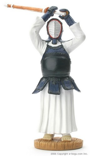 Kendo Dolls (Blue and White)