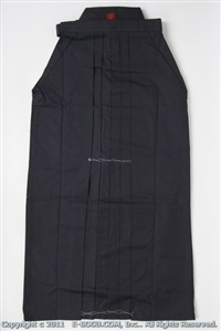 ** OUTLET ** Navy Blue Tetron Hakama - Size 24