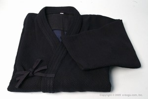 Shoaizome Dark Navy Double Layer Kendo Keikogi -size 3