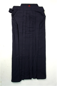 Light Weight Navy Blue Cotton Hakama Size18