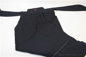 Light Weight Navy Blue Cotton Hakama