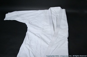 BUTOKU DOUBLE Layer Judo/Aikido Uniform(TOP only) - Size 3
