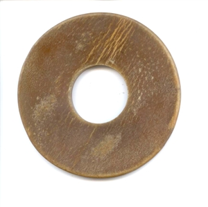 ** OUTLET ** 	 Top Quality Leather Tsuba