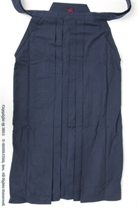 Outlet Navy Blue Cotton Hakama - Size 22