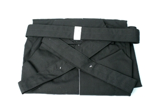 ** OUTLET ** Black Tetron Hakama -size 24