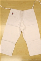** OUTLET ** BUTOKU Brand Double  Aikido Uniform PANTS - size 3