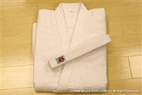 ** OUTLET ** BUTOKU Brand Double  Aikido Uniform TOP - size 4