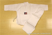 ***OUTLET*** Taekwondo Uniform Set with White Collar - size 00