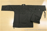 ** OUTLET ** Light Weight Black Karate Uniform - Size 5