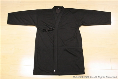 ** OUTLET ** Black Jersey Keikogi for Summer -