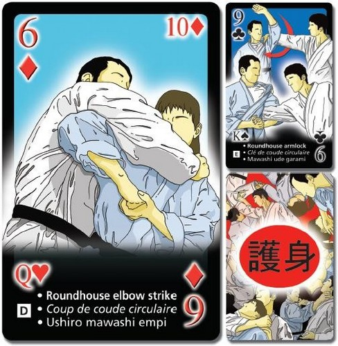 Self Defense Playing Cards