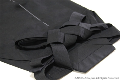Top Quality AIKIDO Black Tetron Hakama