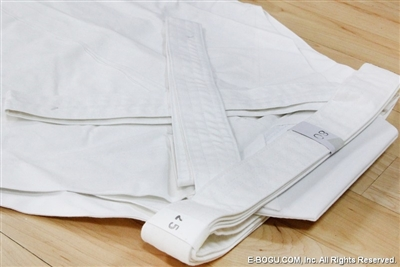Super Light Weight Cotton WHITE Hakama ( less than 1kg)