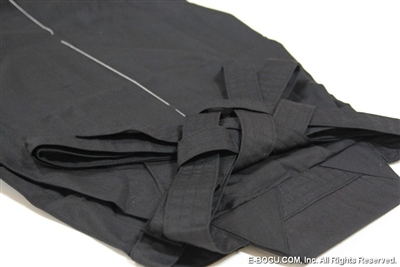 Top Quality Black Tetron Hakama