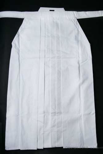 Outlet Top Quality 8,000 WHITE Hakama - Size 24