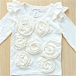 Everbloom Natural Rose Tee
