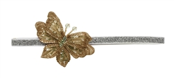 Tutu Du Monde Enchanted Butterfly Headband in Gold