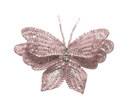 Tutu Du Monde Enchanted Butterfly Hairclip in Powder
