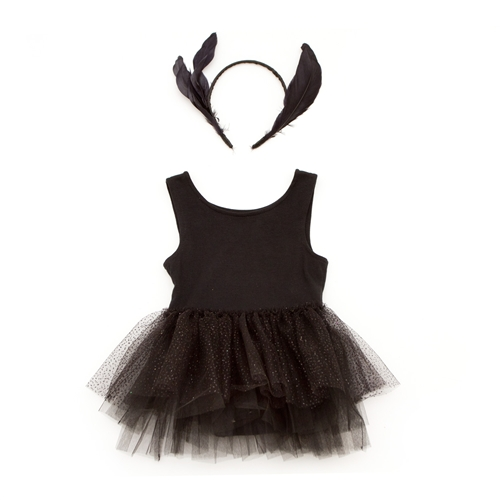 Siaomimi Play Swan Lake Ballerina Costume in Black