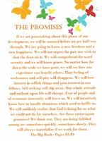 AA The Promises Greeting Card