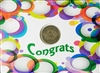 Congrats Colorful Circles Recovery Greeting Card