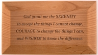 Serenity Prayer God Box