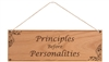 Laser Engraved Recovery Slogans Plaque