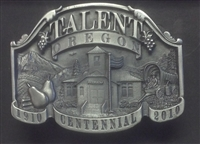 Talent Centennial Belt Buckle